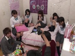 High-School Girl party turn into fuck party 1 (full video at https://bit.ly/33JXYdB)