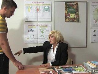 Russian mature teacher 9 - Kayla (break)
