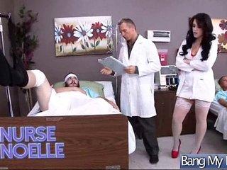 Sex Between Doctor And Hot Slut Patient (noelle easton) clip-26