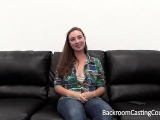 Interracial Threeway with Big Black Cock and White Casting Agent
