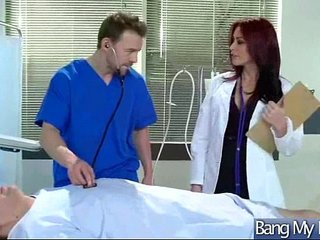 Hard Sex Therapy Between Patient And Doctor clip-15